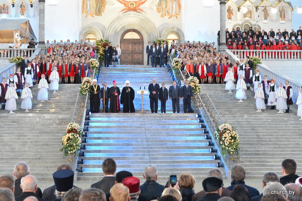 Состоялась торжественная церемония «Молитва за Беларусь» с участием Главы государства и Патриаршего Экзарха всея Беларуси