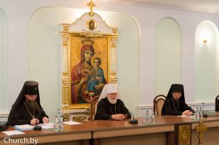 В Минске состоялось очередное заседание Церковного суда Белорусского Экзархата