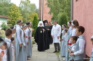 Завершился визит Патриаршего Экзарха в Брестскую епархию