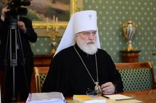 Предстоятель Белорусской Православной Церкви принял участие в очередном заседании Священного Синода
