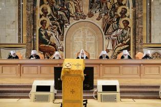 Патриарший Экзарх всея Беларуси принимает участие в пленуме Межсоборного Присутствия Русской Православной Церкви [обновлено]