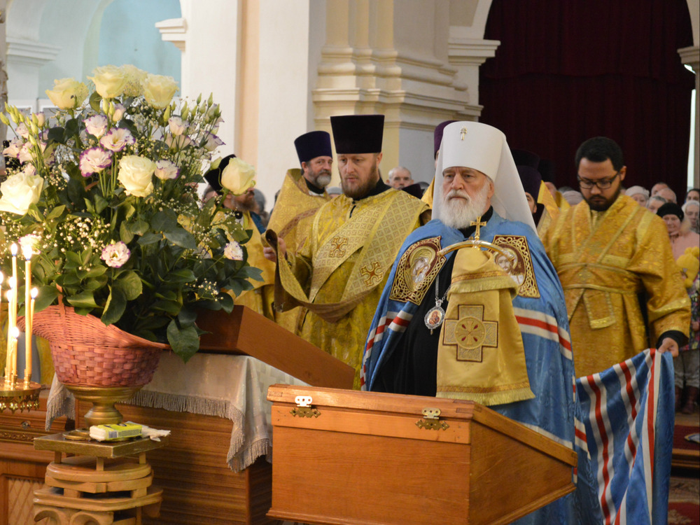 10.11.2017г. в Полоцке состоялись торжества по случаю 1025-летия Полоцкой епархии