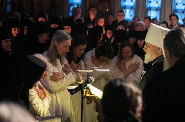 Патриарший Экзарх совершил монашеский и иноческий постриг в Елисаветинском монастыре города Минска