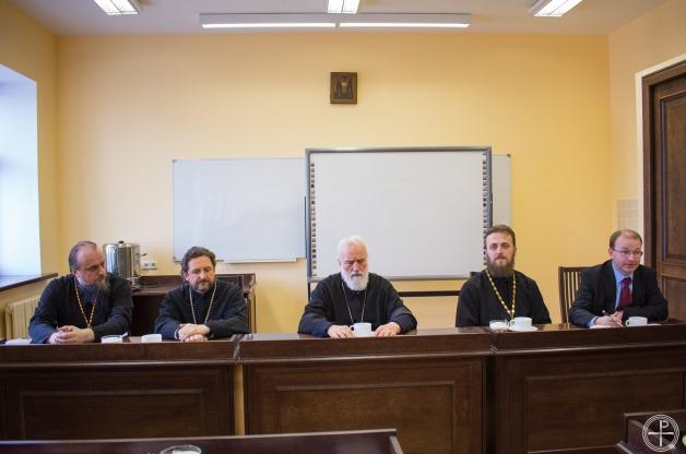 Состоялась встреча Патриаршего Экзарха со студентами Минской духовной академии